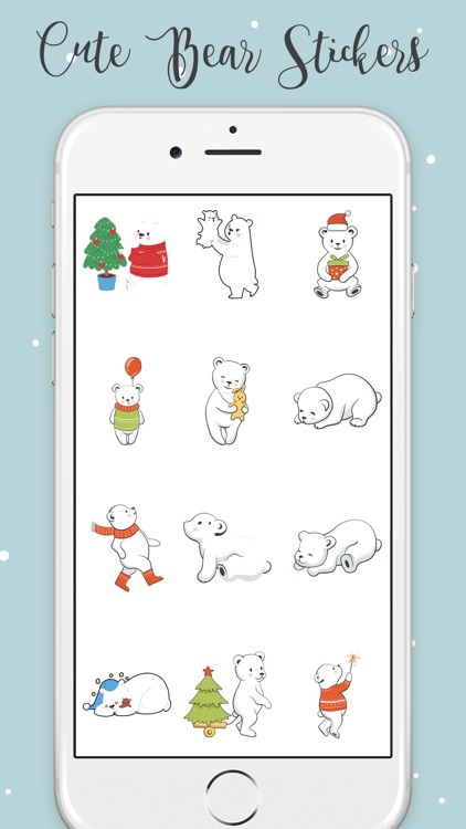 Animated Bear Stickers!