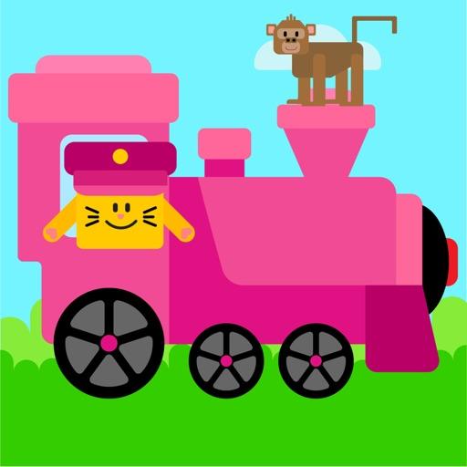 Animal Train Games For Kids 2+