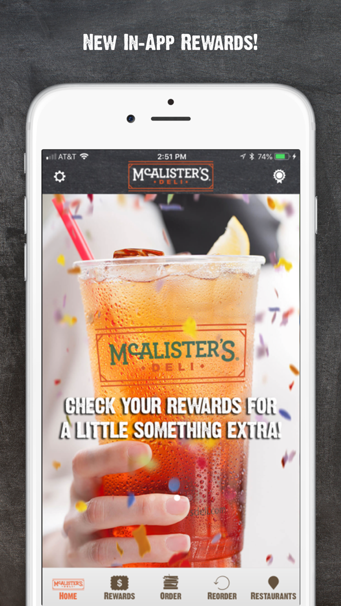 McAlisters Deli Screenshot