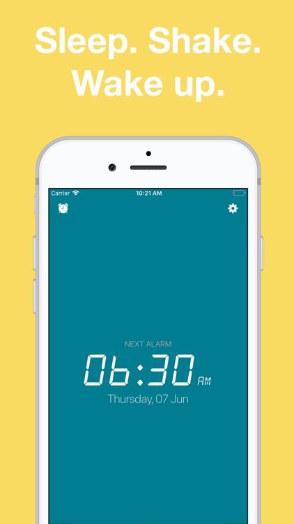 Alarm Clock: Shake to Wake screenshot-3