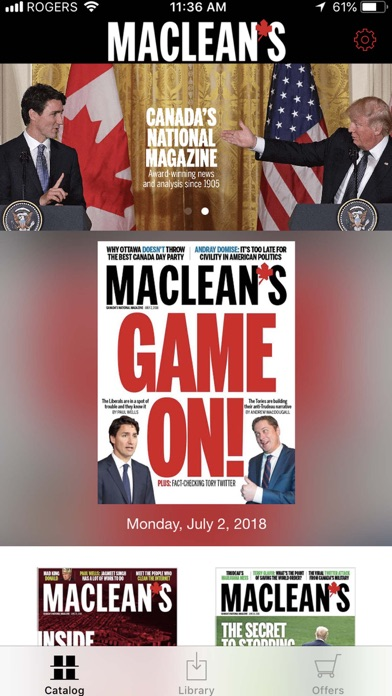 Macleans Magazine review screenshots