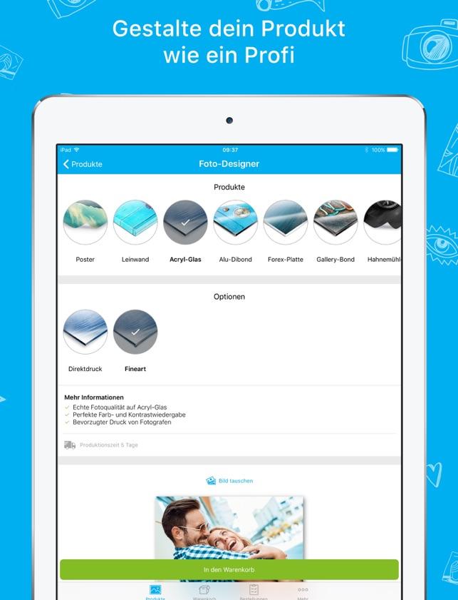 myposter - Dein Foto in Groß im App Store