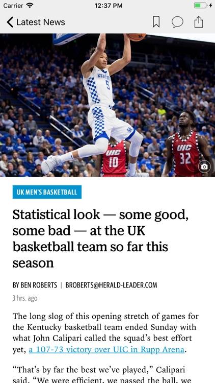 Lexington Herald-Leader News