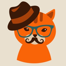 Anianimal Hipster Stickers