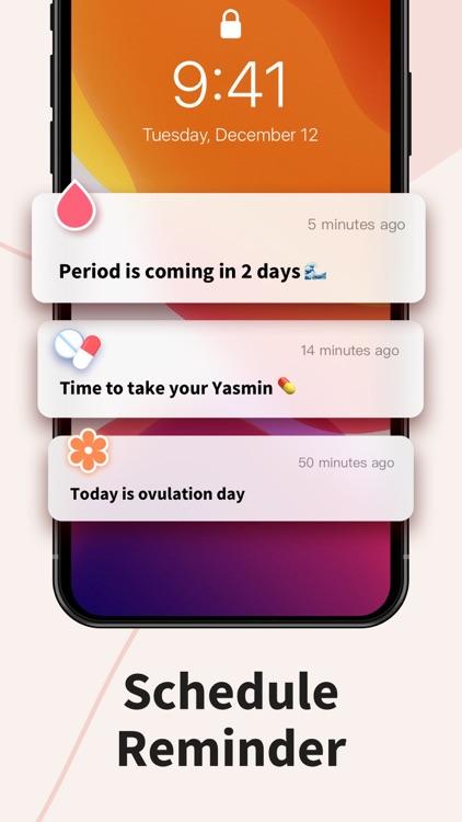 Period Tracker Period Calendar screenshot-7