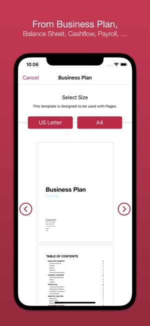 Business templates for pages on the app store business templates for pages on the app store cheaphphosting Images