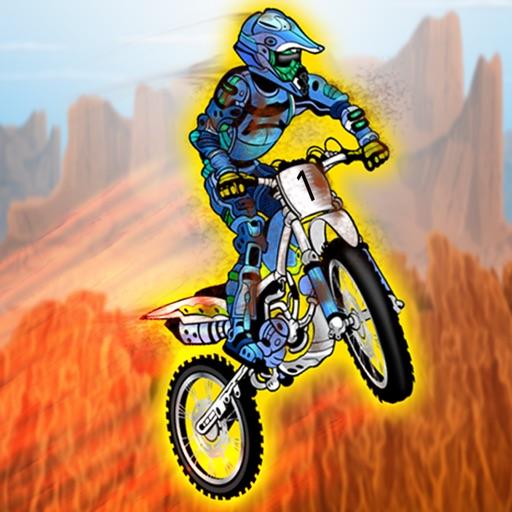 Dirt Trials Bike Racing