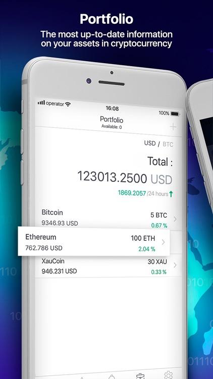 Crypto Snaper: bitcoin tracker screenshot-3