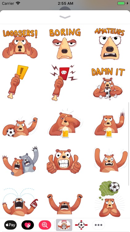 Boris - Football Fever Emoji screenshot-4