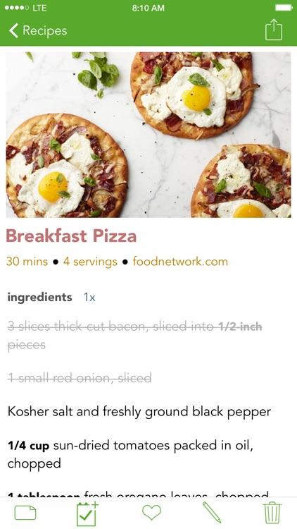 Basil Recipe Manager screenshot-0
