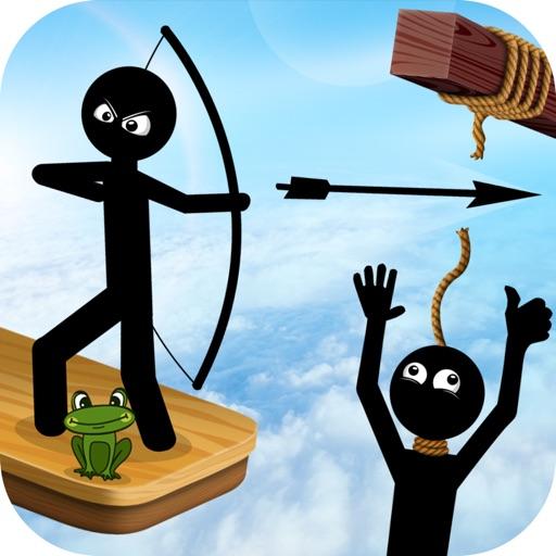 Save Stickman : Archery Master