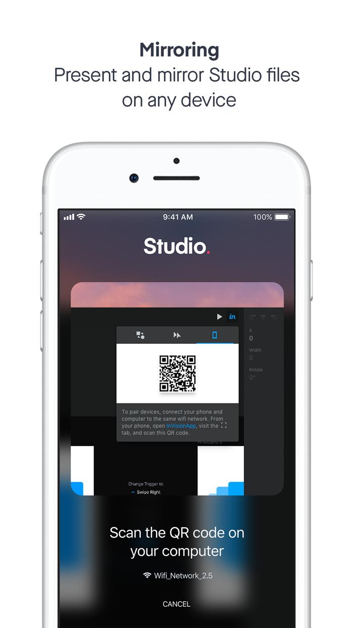 InVision - Design & Prototype Screenshot