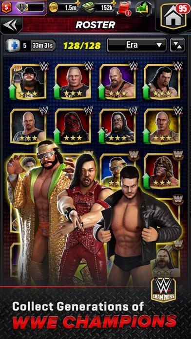 WWE Champions - Puzzle Game screenshot 3