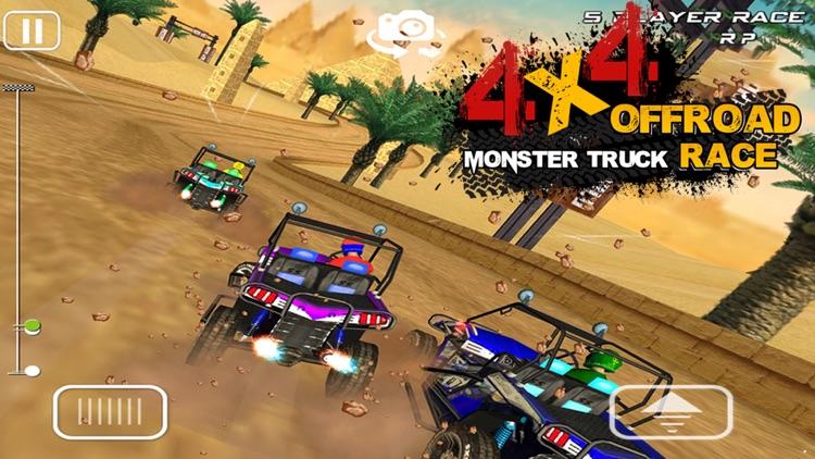 4x4 OFFROAD MONSTER TRUCK RACE screenshot-3