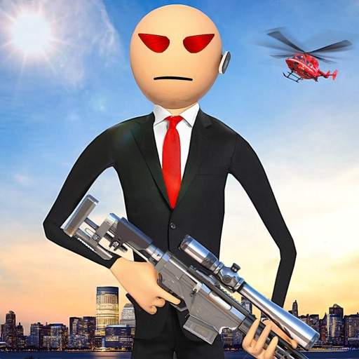 Stickman Hitman Agent 447