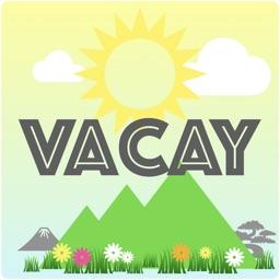 vacay stickers