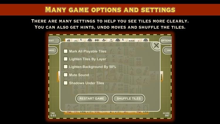 Mah Jongg Tiles Solitaire screenshot-4