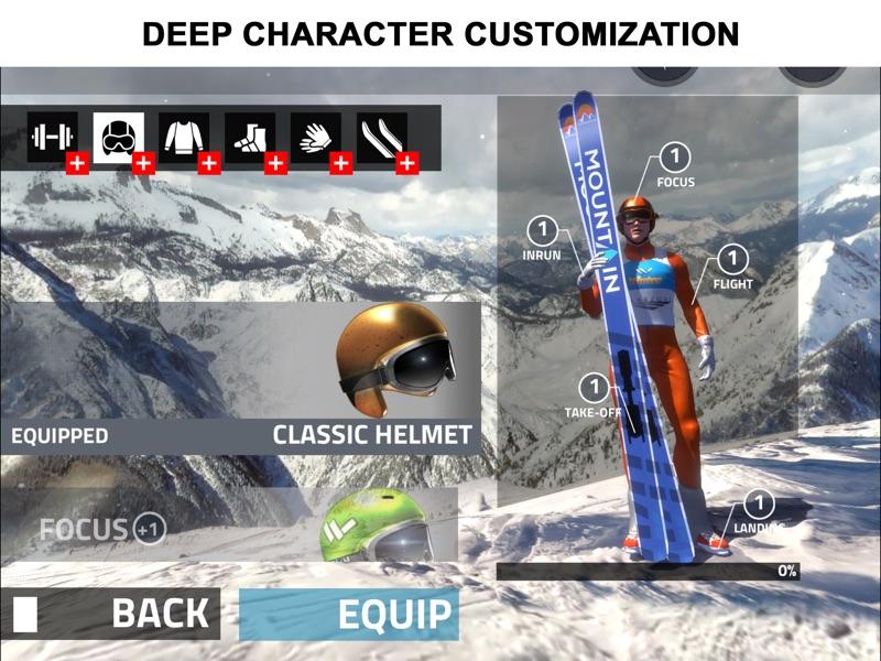 跳台滑雪 专业版截图2