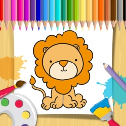 Drawing & Coloring Animal Book