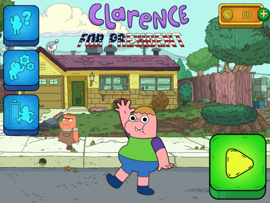 Clarence for President Скриншоты9