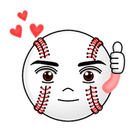 Cute Baseball Emoji Sticker
