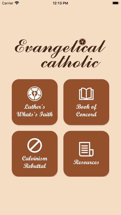 Evangelical catholic screenshot-3