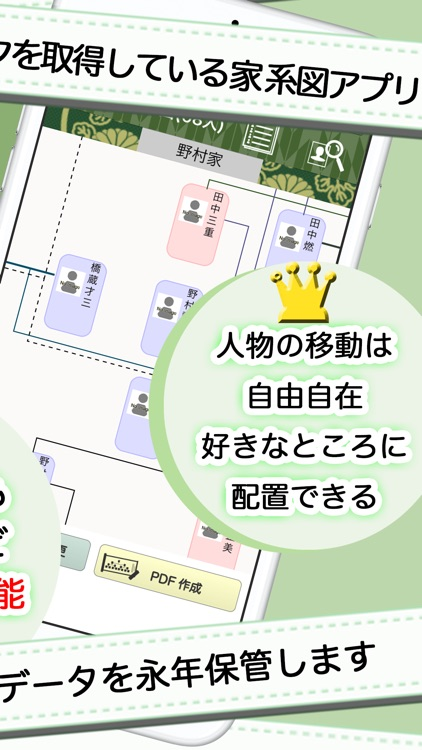 家系図 by 名字由来net 日本No.1 100万人 screenshot-3