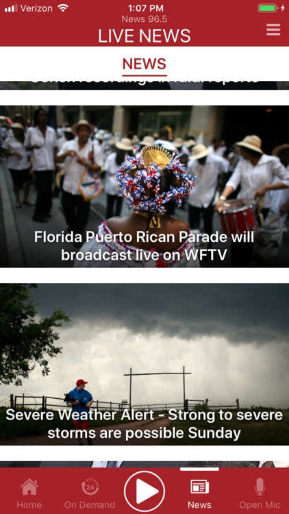 News 96.5 (WDBO-FM), Orlando screenshot-1
