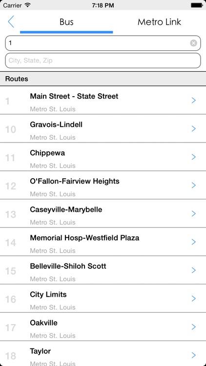 Transit Tracker - Saint Louis screenshot-4