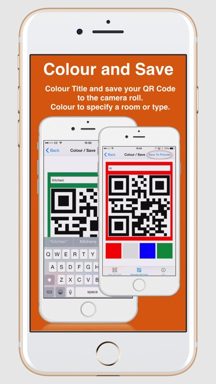 Fast QR Code Scan & Label make