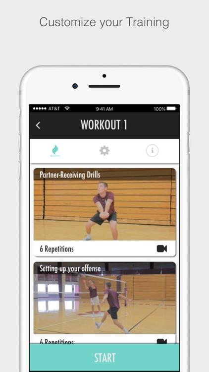 Volleyball Training screenshot-4