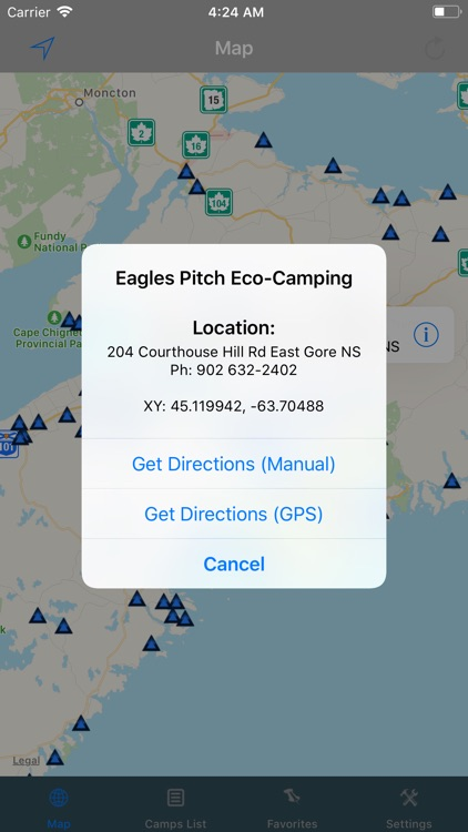 Nova Scotia – Camping & RV's screenshot-1
