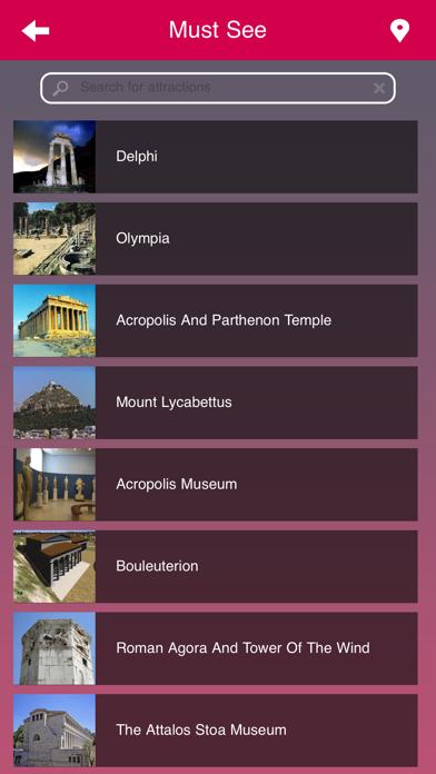 Athens City Guide screenshot three