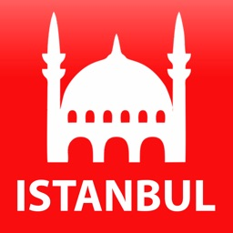 Istanbul travel map guide 2018