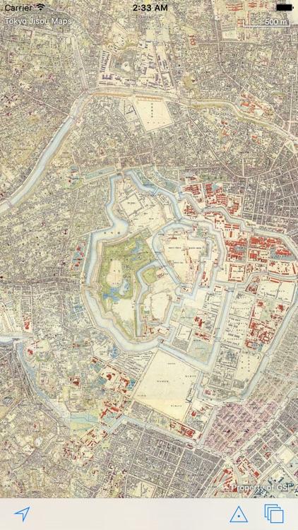 Tokyo Jisou Maps screenshot-0