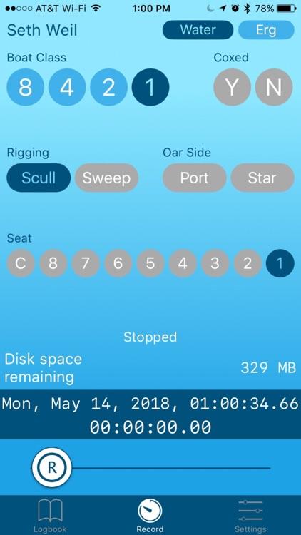SwingRow screenshot-4