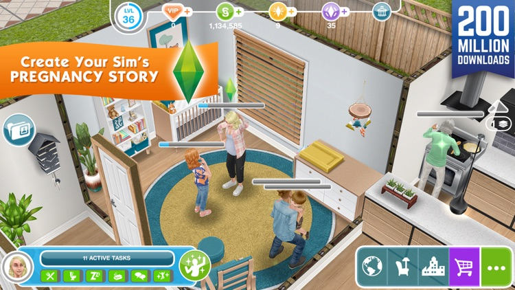 The Sims™ FreePlay screenshot-0