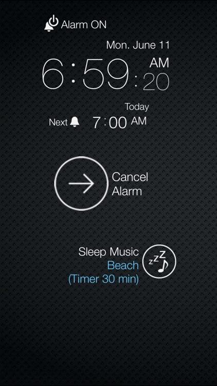 Weekly Alarm Clock screenshot-3