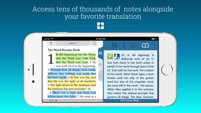 NIV Study Bible Screenshot