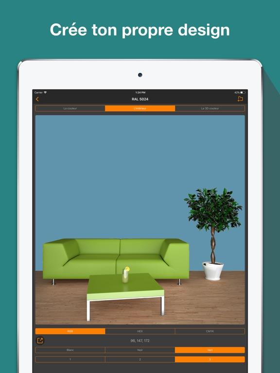 Screenshot #5 pour RAL couleur. 3D nuancier