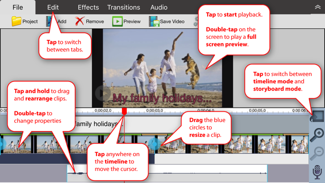 VideoPad - Video Editor on the App Store