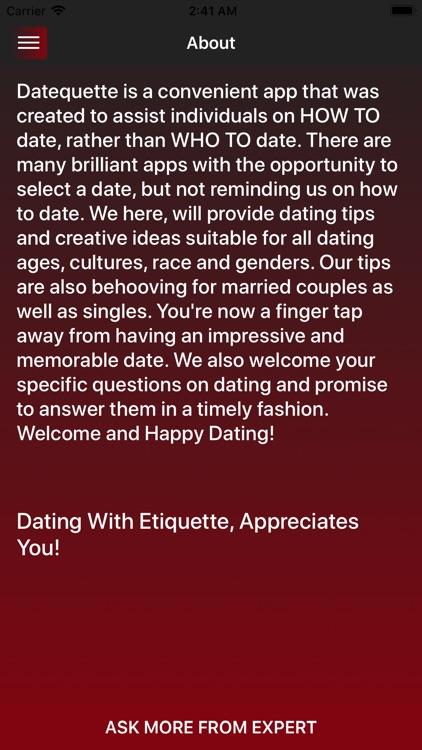 Datequette screenshot-3