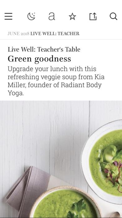 Screenshot for Yoga Journal in United Arab Emirates App Store