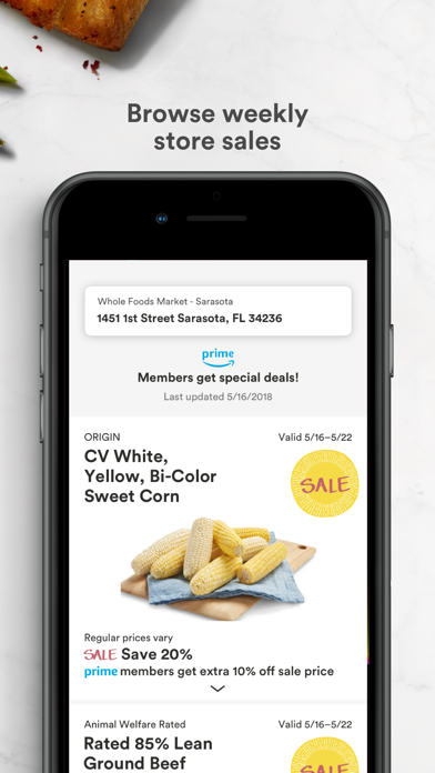 Whole Foods Market by Whole Foods Market Services, Inc  (iOS, United