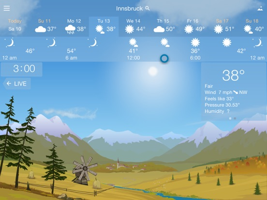 Screenshot #5 for YoWindow Weather