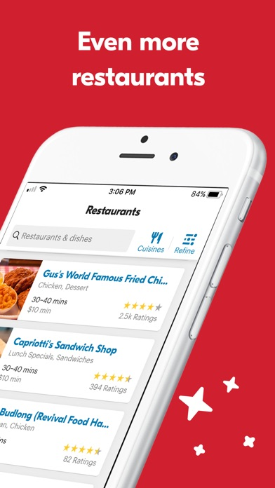 Eat24 Food Delivery review screenshots