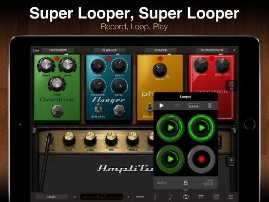 AmpliTube for iPad Screenshots
