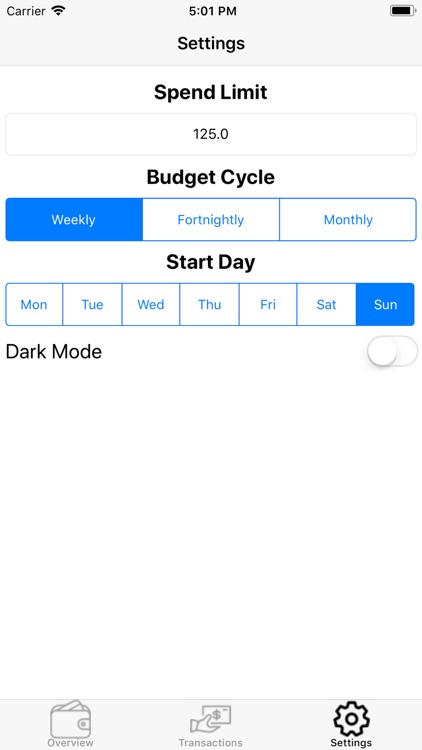 simple expense tracker by mitchell duncan