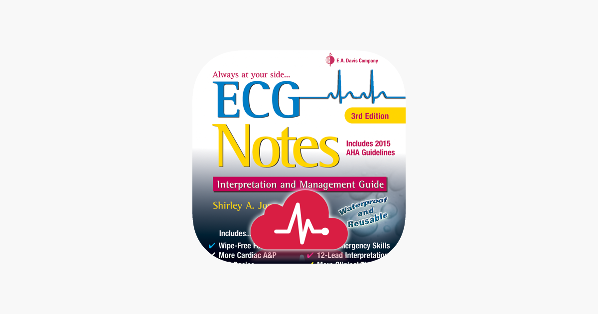ECG Notes: Quick look-up ref  on the App Store
