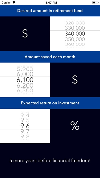 The Early Retirement App screenshot-3